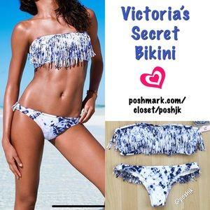 NWT Victoria's Secret Bikini Fringe Boho Itsy